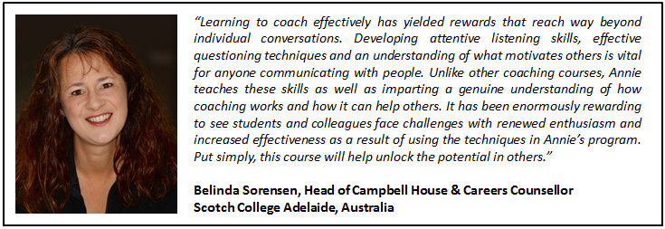 coaching training online teachers cpd testimonial