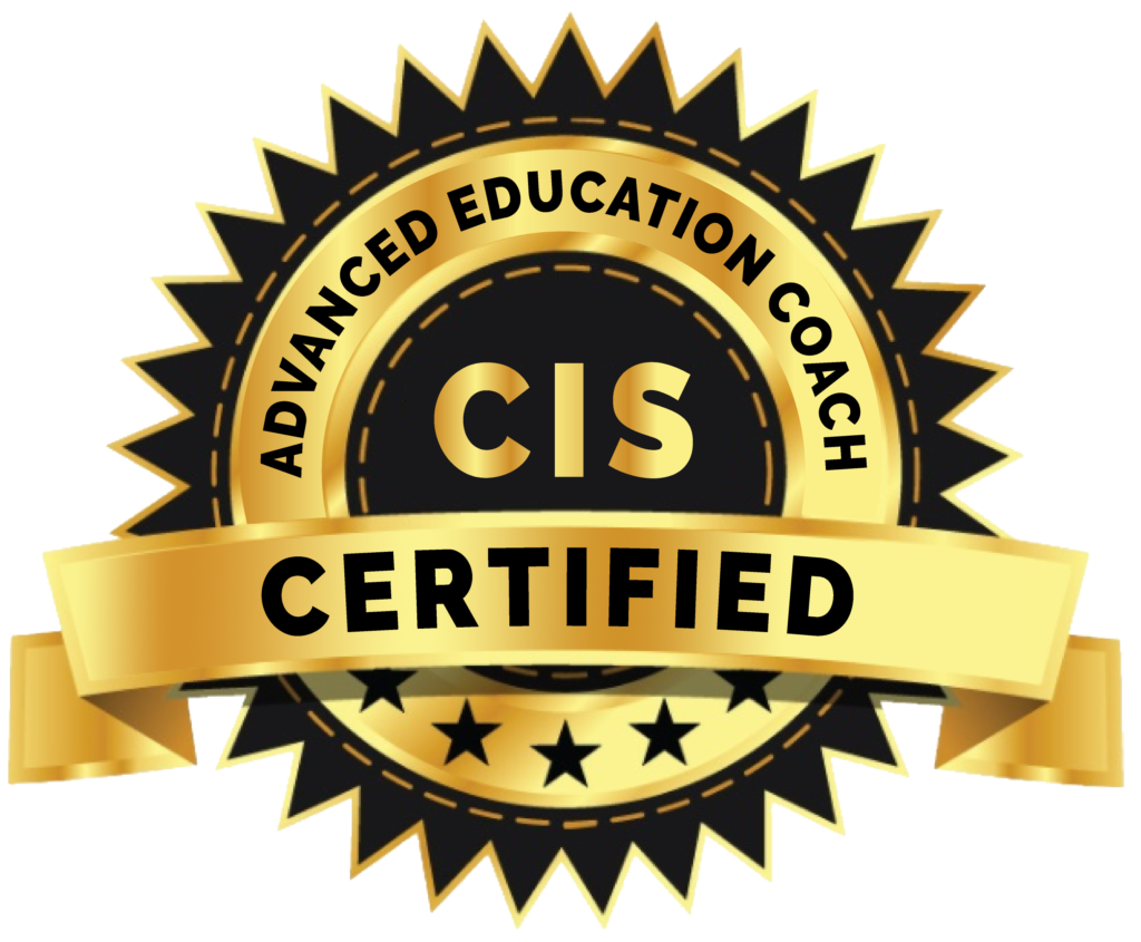 Certified Advanced Education coach